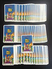 Ensemble complet des 80 cartes stickers Jeu Astérix jeux Olympiques Cora NEUF