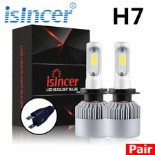 2x H7 CREE LED HEADLIGHT 688W 168000LM COB FOG LIGHT BULBS HIGH BEAM KIT 6500K