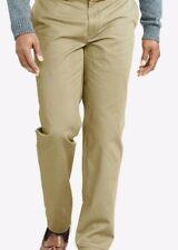 Polo Ralph Lauren Men Pants Classic-Fit 38X30 Cotton Chino Beige flat front NWT