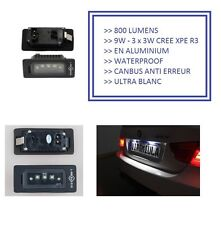 2 LED PLAQUE 9W CREE BMW SERIE 1 3 5 E90 E91 E39 E60 E61 X5 X6 E70 E82 E88
