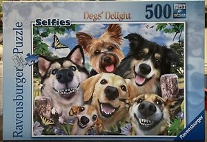Ravensburger 500 Piece Jigsaw Puzzle Selfie Dogs' Delight