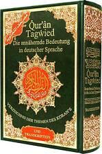 Tajweed Quran with German Translations & Transliteration Dar Marifa Qur'an