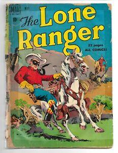 Lone Ranger #23 Dell Comics 1950 POOR