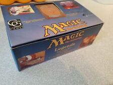 Mtg Magic The Gathering EMPTY Legends Booster Box