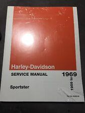 NEW GENUINE Harley-Davidson 1959-1969  Service Manual Sportster 99484-69
