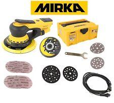 MID5650202CA MIRKA DEROS Elektro Exzenterschleifer im Case 125+150mm 5mm Hub