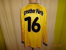 SpVgg Greuther Fürth umbro Langarm Matchworn Trikot 2004/05 +  Nr.16 Gr.XL