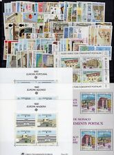 EUROPA: ANNEE 1990 QUASI COMPLETE DE 80 TIMBRES+ 5 BLOCS NEUF** Cote: 274,00 €