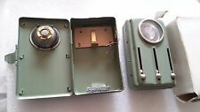 GERMANY Soldier Army Signal  4 colors  Flashlight / metal  BG made 60-70s