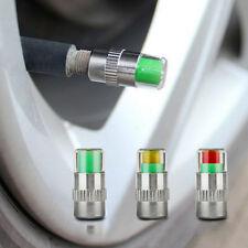 Tire Pressure Monitor Valve Stem Caps 4Pcs Diagnostic Tools For Car Auto
