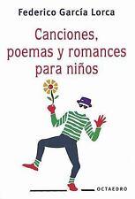 Canciones, Poemas y Romances Para Ninos (Spanish Edition)-ExLibrary