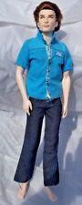 TWILIGHT Mattel Barbie Collector TWILIGHT Saga EDWARD Ken DOLL 2009 Rooted Hair