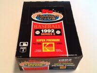TOPPS STADIUM CLUB 1992 SERIES 2 BOX of 36 MLB Baseball Cards Kodak Premium