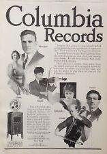 1919 AD(H19)~COLUMBIA GRAPHOPHONE CO. NY. COLUMBIA RECORDS