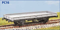 LNER 20t Plate Wagon 1940 - OO gauge - Parkside PC16 - free post
