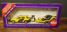 Siku # 2233 PKW Mit Anhanger Und Tourenwagen - Car w/Trailer & Touring Car - New