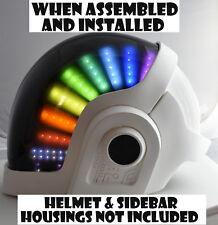 Daft Punk Helmet Guy Manuel LED Set, DIY Kit ALL Parts Included For Helmet
