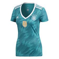 adidas Deutschland Trikot Away Damen Wm18 Türkis s ( 36 )