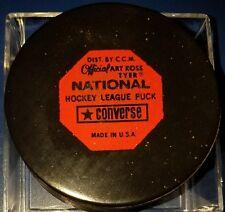 Vintage Art Ross Converse Kansas City Scouts Puck 1969-1977 Rubber Crest Game