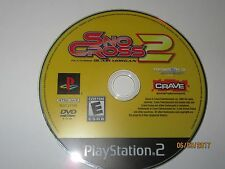 SnoCross 2 Featuring Blair Morgan (Sony PS2, 2007) Black Label - Disc Only