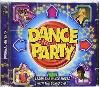 DANCE PARTY - Learn Dance Movies Hits CD + Bonus DVD (2002) New Audio Music CD