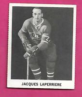 RARE 1965-66 COCA COLA CANADIENS JACQUES LAPERRIERE CARD (INV# C9703)