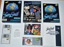 SIM EARTH - EL PLANETA VIVO (IBM PC DOS 3.5) (ERBE - OCEAN). 1991 ED. ESPAÑOLA.