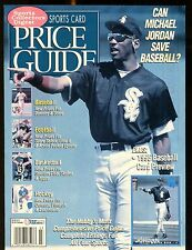SCD Sports Card Price Guide March 1995 Michael Jordan jhscd