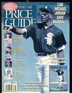 SCD Sports Card Price Guide March 1995 Michael Jordan jhscd