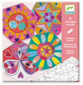 NEW DJECO Constellation Mandalas Colouring (ages 6+) - Combined postage avail