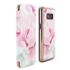 Official Ted Baker Womens Galaxy S8 Knowai Floral Nude Case Porcelain Rose