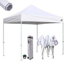 10x10 Waterproof Pop Up Canopy Outdoor Gazebo Instant Trade Show Tent White