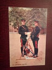 POSTCARD - 2nd Life Guards Signallers, Tuck Military