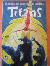 TITANS N)° 138   Excalibur Les nouveaux mutants Les vengeurs