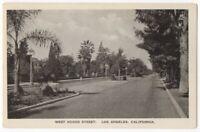 041620 VINTAGE LOS ANGELES CA POSTCARD WEST ADAMS STREET