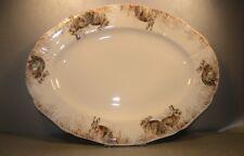 NEW Oval Platter Nr 6, Sologne Pattern  From GIEN