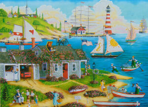 PUZZLE....JIGSAW....HOLODOOK...Painter's Point...300 Pc...Sealed