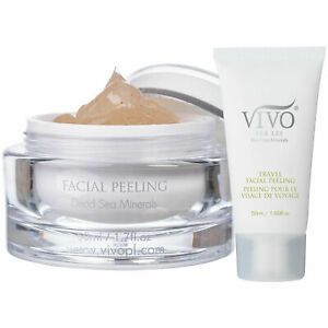 Vivo Per Lei Dead Sea Peeling Gel Gentle Exfoliating Purify Detoxify Scrub Peel