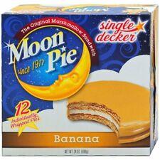 Moonpie(R) Banana Single Decker Case ., 12 Count (8 Pack)