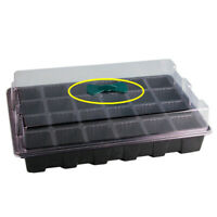24 Holes Plant Seeds Grow Box Insert Propagation Nursery Seedling Starter Tray