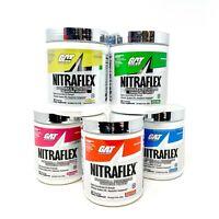 GAT Sport Nitraflex High Concentrate 3X Strength Test 30 Servings CHOOSE FLAVOR