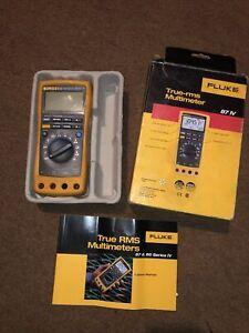 Fluke 87 IV True RMS Digital Multimeter, No Test Leads.