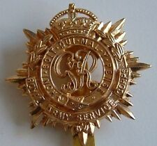 RASC ROYAL ARMY SERVICE CORPS KC CLASSIC GENUINE REGIMENTAL LICENSED CAP BADGE