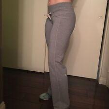 lululemon gray calm and cozy sweatpants 12 great condition