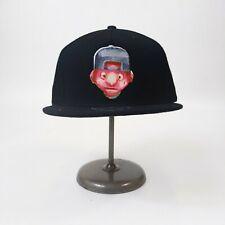 Trukfit mens one size adjustable snapback hat black logo