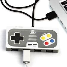 Super Hub PlayHub 4 Port USB 2.0 Retro Game Controller Windows&Mac Plug&Play NIB