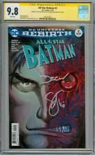 ALL STAR BATMAN #2 CGC 9.8 SIGNATURE SERIES x2 SNYDER SHALVEY DC COMIC TWO FACE