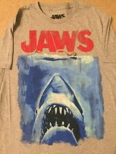 JAWS movie GREAT WHITE shark HORROR Vintage Retro MEN'S New T-Shirt