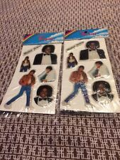 Michael Jackson Puffy Stickers vintage 80s Thriller Off the Wall Sealed Packages