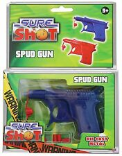 Kids Sure Shot Spud Gun SPY Academy Spud Gun